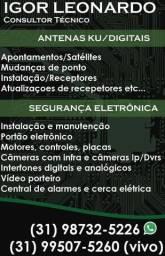 O cara Da tv Antenas Receptores box etc