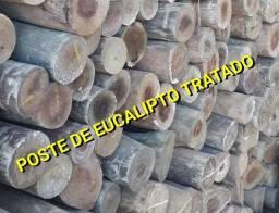 Poste de eucalipto 8,50