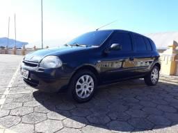 Renault Clio 1.0 2002 aceito troca por moto. ACEITO CARTAO COM JUROS DA MÁQUINA