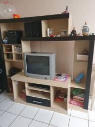 Estante e TV TOSHIBA 29 polegada