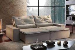 Show Promoção - Sofá Super Conforto Pillow de 10 (Pronta Entrega) - Só R$2.349,00