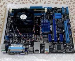 Placa Mãe ASUS, Processador AMD FX6300 + Memória RAM 8GB