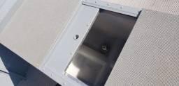 Lancha de aluminio boto 5000 fluvimar