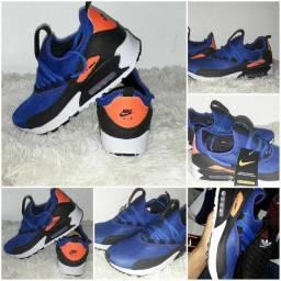 9 8 6 0 0 - 1 0 2 1 * Tênis Nike Air Max novo na caixa cor azul ou  preto