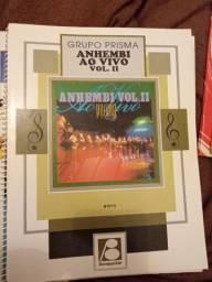 """Livro de partituras """"Anhembi ao vivo vol. II"""" do Grupo Prisma Brasil"""