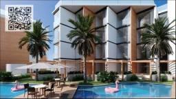 GN- Flats beira mar na praia do Cupe, piscina aquecida, rooftop, restaurante beira mar