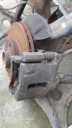 Pinça de freio lado direito gol G3 para disco ventilado