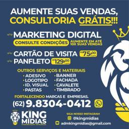 Cartão de Visita, Panfleto, Logotipo, Identidade Visual