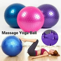 Bola carocada para exercícios, massagem, yoga com 65cm