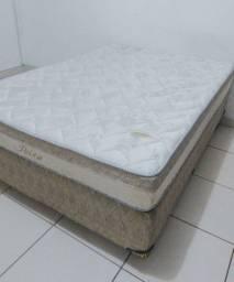Vendo cama box casal