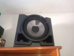 Som da Sony com Bluetooth embutindo com rádio sem cd