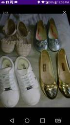 Todos os calçados tam 30 por 50 reais