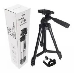 Tripe Universal 1,10 mt Camera Celular Regulavel Leve E Portátil
