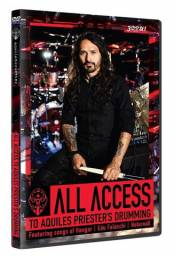All Access To Aquiles Priester´s Drumming - Dvd Triplo,