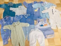 Combo de roupas de Bebê tamanho P
