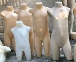 Manequins infantis