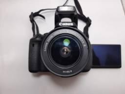 Câmera Profissional Canon T3i + Cartão de 32GB - Impecável