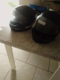 2 capacete por 80 reais