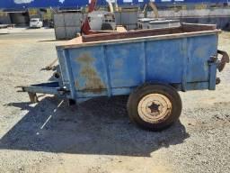 Carreta esterqueira, minami, mod. 505, capac. 2 000 kg, usada