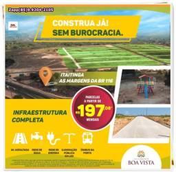 Itaitinga Loteamento - não perca essa chance de investir na sua moradia!!