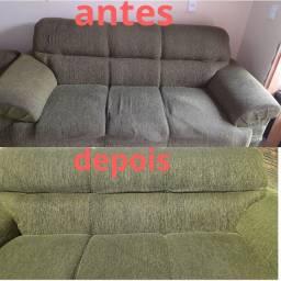 Higienização De sofá em geral