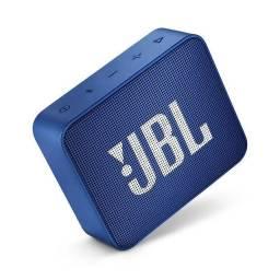 Caixa Bluetooth Jbl GO2 Azul com Potência de 3W - JBL