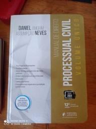 Manual de Processo Civil - Daniel Amorim - Volume Único - Jus Podvim - (12º edição. 2020)