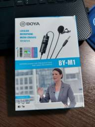 Microfone Lapela BOYA BY-M1  6mts de cabo.