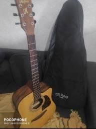 Violão manual e elétrico