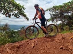 Bike aro 29 freio hidráulico
