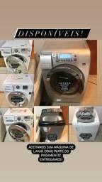 Máquina de Lavar e Secar Conservadas Entrego