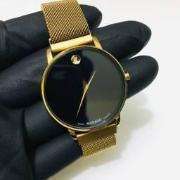Relógios Movado Unissex Pulseira Magnética (Qualidade Extrema)