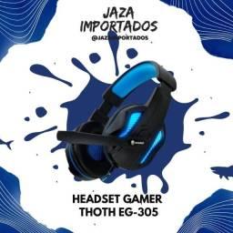 Headset Gamer Thoth EG-305 - Alta Qualidade para seus jogos !