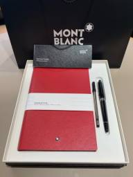 Kit Caneta e caderno Mont blanc