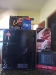 PC Gamer 10º Geração Intel-Placa-mãe m.2+I3-10100F+8GB Ram + R7 240 2GB+Fonte 550W bronze