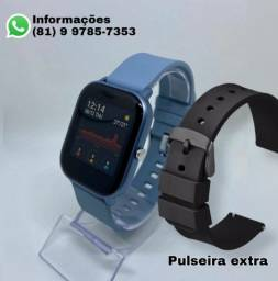 Relógio Smart Colmi P8 - NOVO (Pulseira extra de brinde)