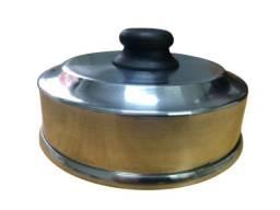 Título do anúncio: Abafador de Hambúrguer Profissional 14cm - Alumínio