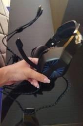 Vendo fone com microfone headset profissional ideal para vídeo game ou PC Aceito cartão