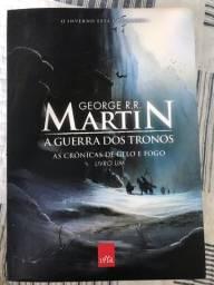 livro Game of trones ( A guerra dos tronos)