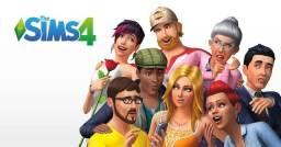 The Sims 4 c/ expansões e pacotes de jogo