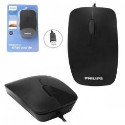 Mouse USB Com Fio 1000 DPI M302 Philips