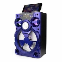 Título do anúncio: Caixa de som Grasep C/ Bluetooth, Pen Drive e Rádio FM 800Wts