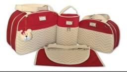 Lindos kits Bolsas martenidade quatro peças baby só 150 Reais