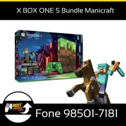 X Box One Bundle Manecraft Loja Fisica