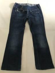 Título do anúncio: calça diesel modelo cherok stretchy jeans escuro