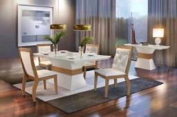 Título do anúncio: Mesa de Jantar Ágata c/ 4 cadeiras - Entrega Grátis