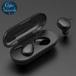 Fone Y30 TWS / Sem Fio / Bluetooth / Smart Touch / 5.0 Binaural / Super Bass Stereo.