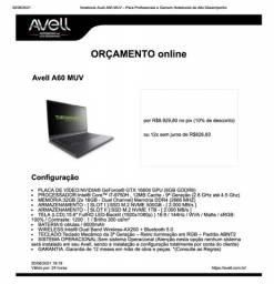 Avell A60 MUV