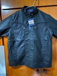 Jaquetas em couro feminina e masculina