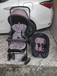 Carrinho + Bebê conforto